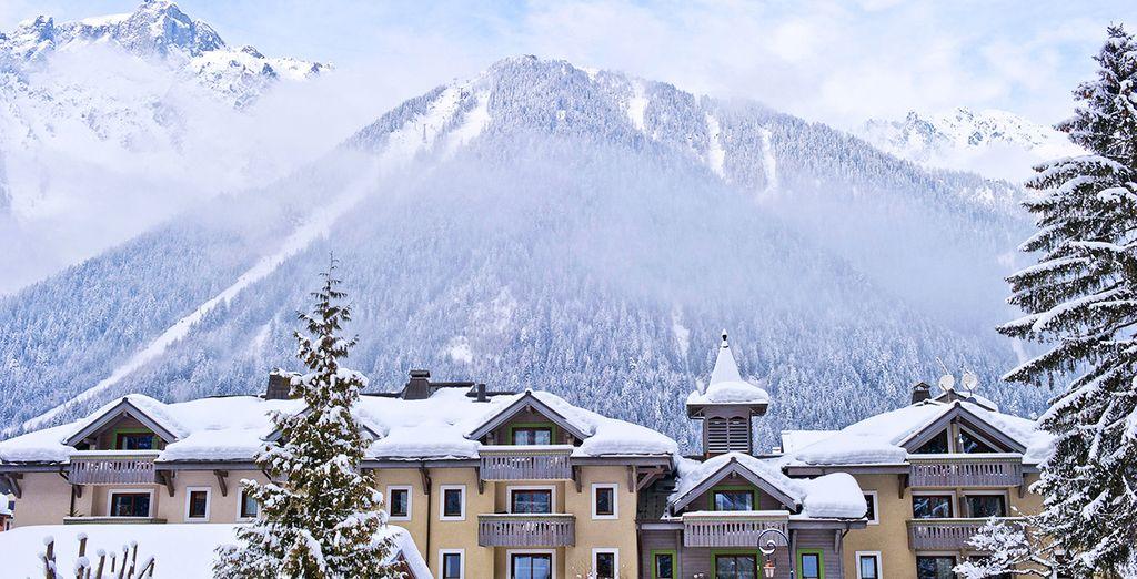 Vous ne pourrez pas rêver d'une meilleure situation pour vos vacances au ski