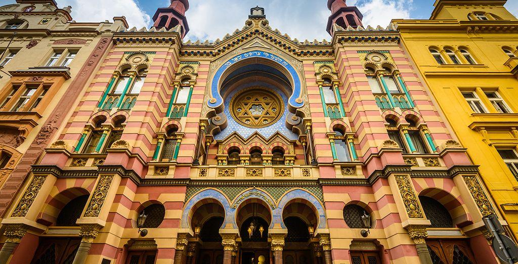Vous serez émerveillé devant les trésors culturels de la capitale tchèque !