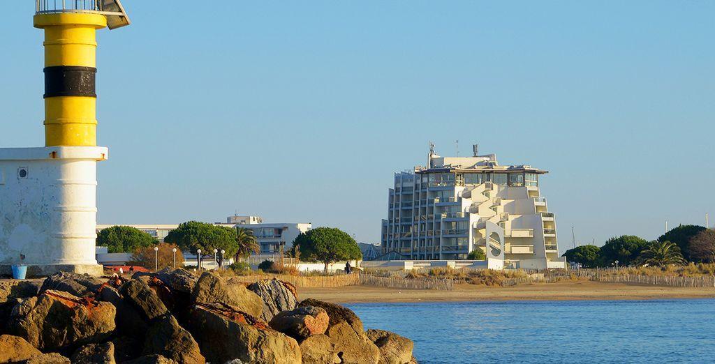 L'hôtel Les Bains de Camargue vous accueille...