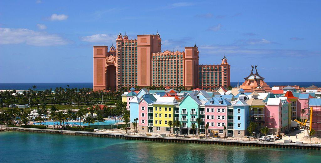 Avant de rejoindre les Bahamas