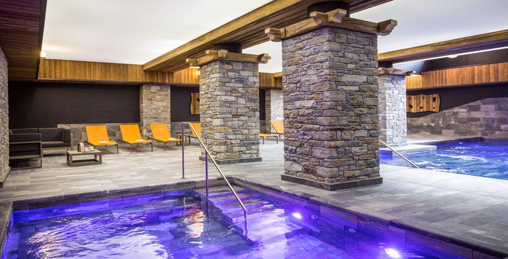 Pour des vacances sous le signe de la détente, rendez-vous au spa de l'hôtel...