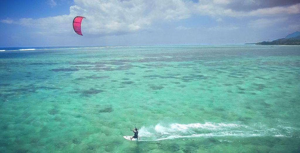 Kite-surf...