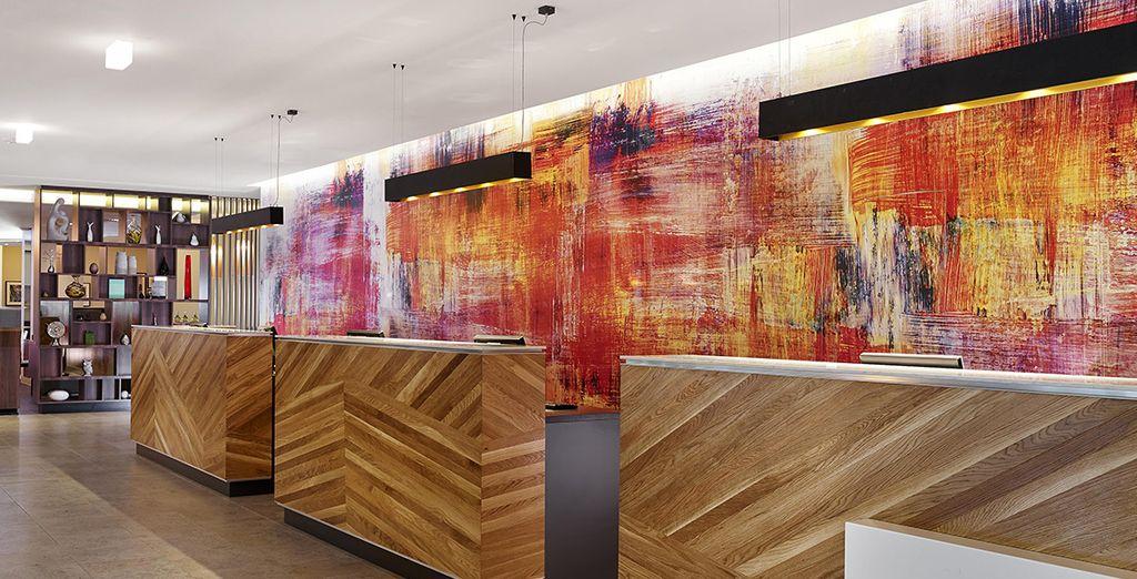 Puis vous prendrez place au Doubletree by Hilton Islington 4*