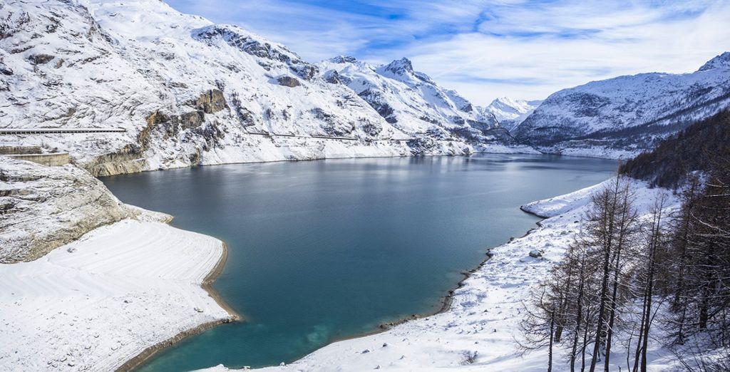 Et admirez les beautés de la montagne