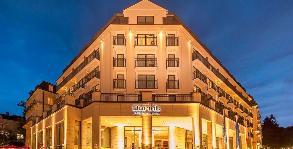 Bienvenue à l'hôtel Dorint Maison Messmer 5*