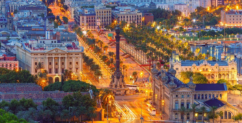 Votre hôtel est situé à seulement 100 mètres de la plaza de Catalunya et de las Ramblas