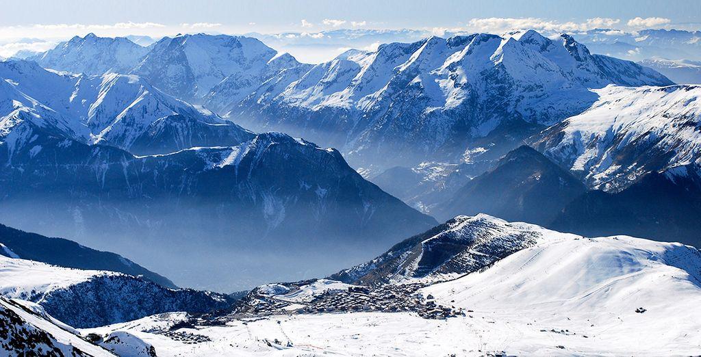 Tout schuss à l'Alpe d'Huez