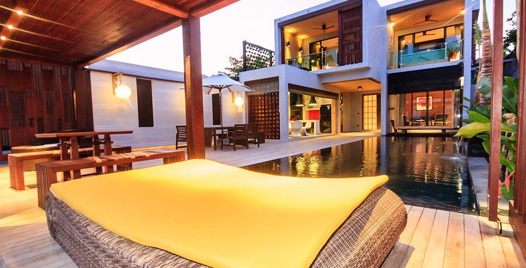 Vous y découvrirez un 4* d'exception : Le Pavilion Samui Boutique Resort