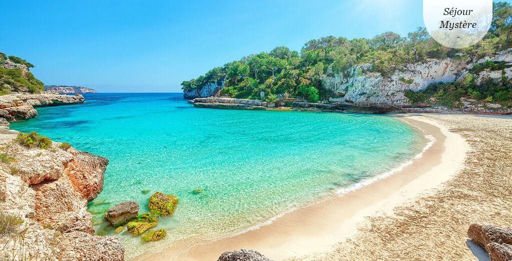 Détente sur de belles plages de sable fin