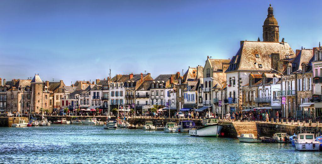 Câp sur la côte Atlantique pour des vacances à la mer - Nantes