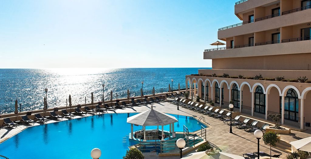 Hôtel de luxe à Malte tout confort avec piscine
