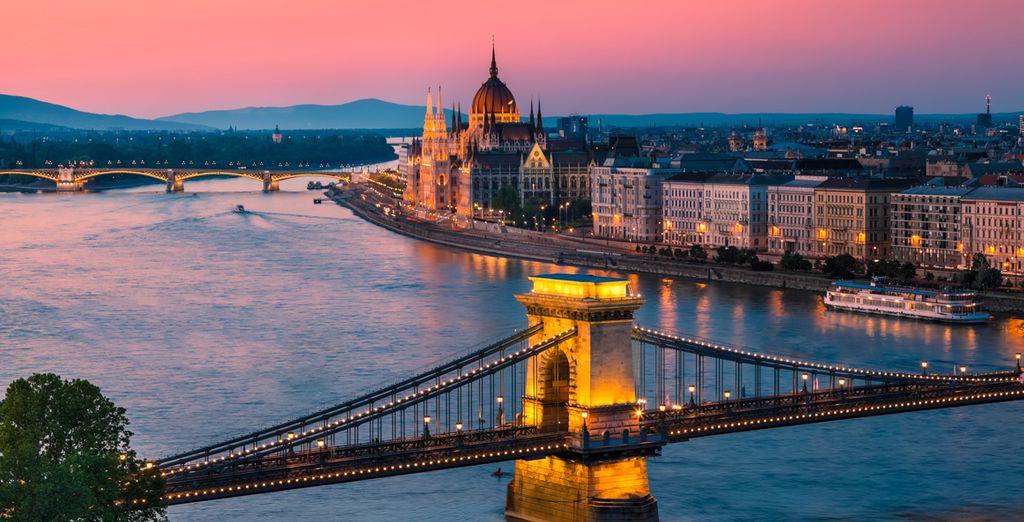 Photographie de la belle capitale, Budapest en Bulgarie