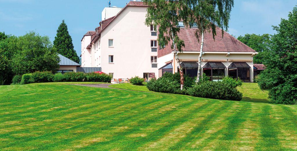 Hôtel Les jardins de Deauville 3*