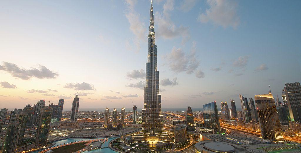 Découvrez l'imposant Burj Khalifa