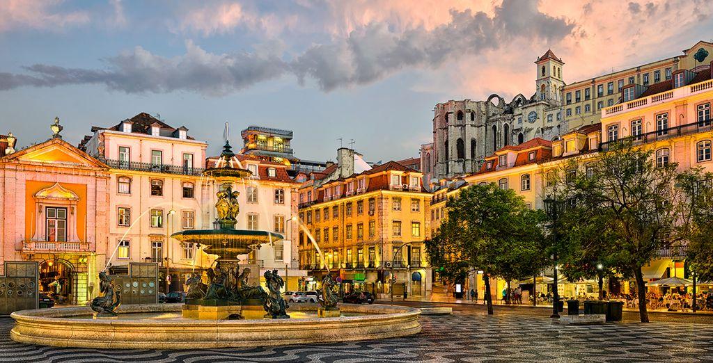 Photographie des plus beaux quartiers de Lisbonne
