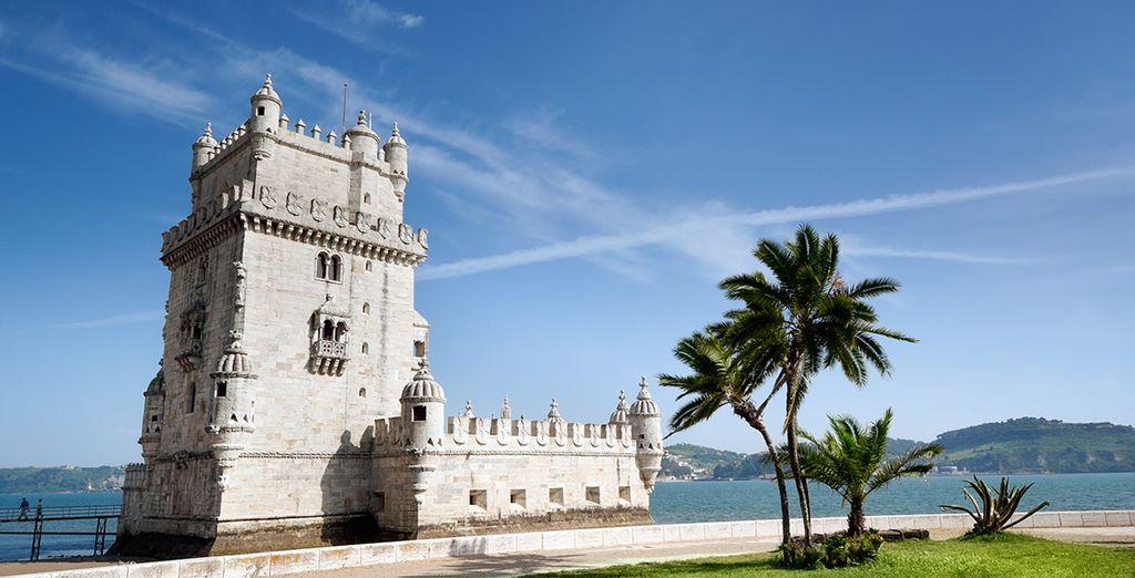 Photographie de la tour de bélem au Portugal