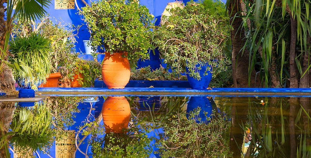 Passez un moment en amoureux au Jardin Majorelle