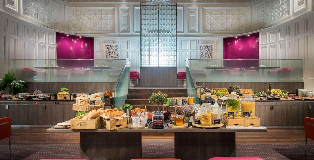 Hôtel haut de gamme 4 étoiles avec petit déjeuner tout inclus