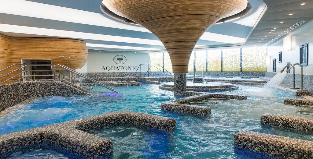 Nantes hotel 4* de luxe avec centre Aquatonic