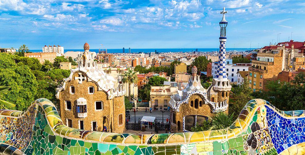 Découvrez la ville animée de Barcelone