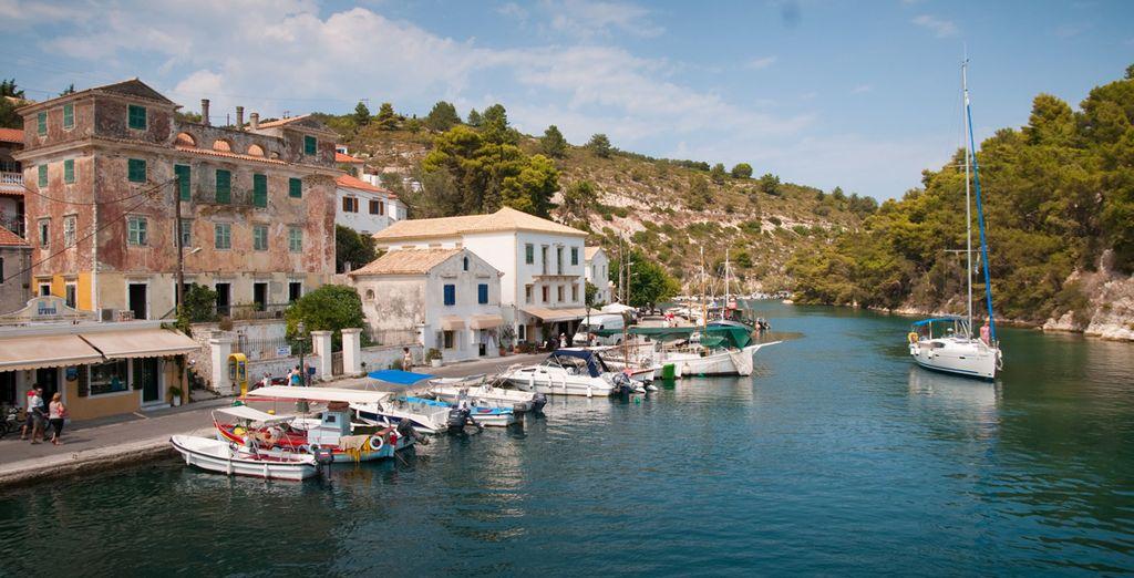 Embarquez pour une croisière aux îles de Paxos et Antipaxos