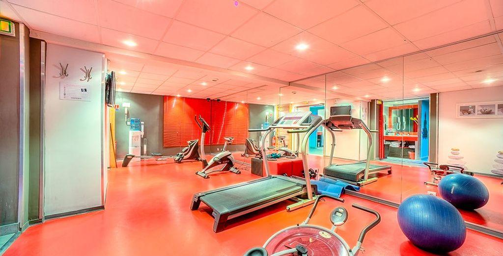 L'endroit idéal pour effectuer sa séance de fitness