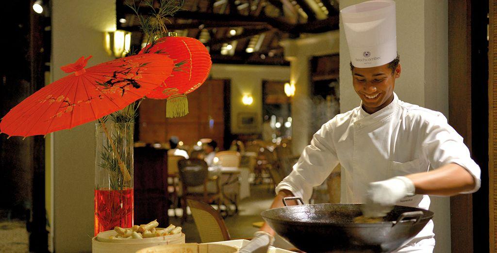 Vous y découvrirez toutes les saveurs de la cuisine mauricienne
