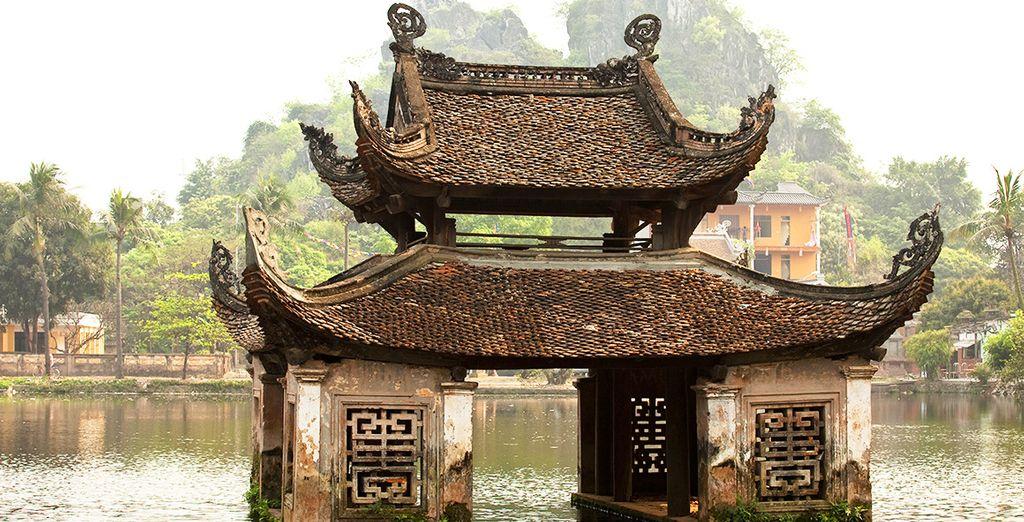 Admirez les vestiges d'Hanoi