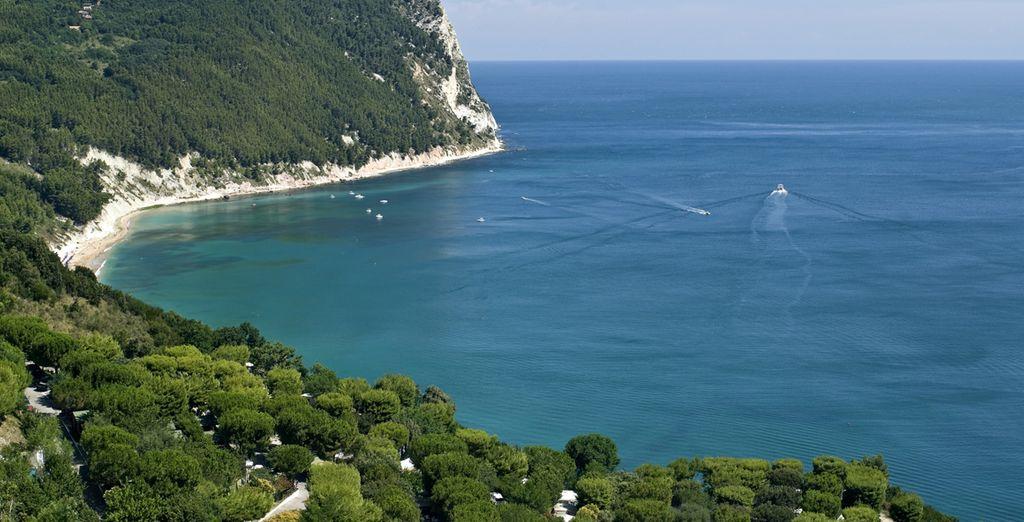 Bonnes vacances sur la côte Adriatique
