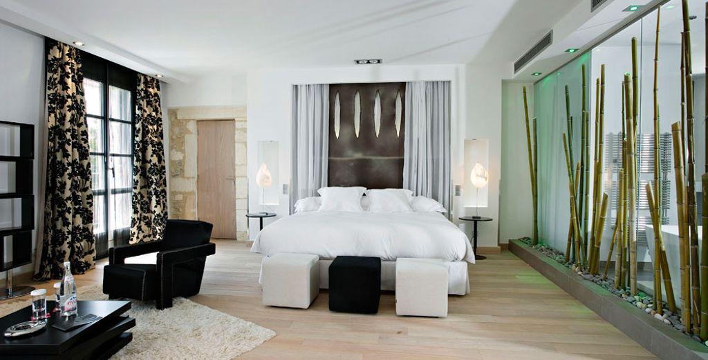 Pour encore plus de luxe, laissez-vous tenter par la Junior Suite Premium