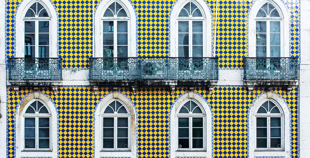 En partant à Lisbonne - Hôtel Dom Pedro Lisboa 5* Lisbonne