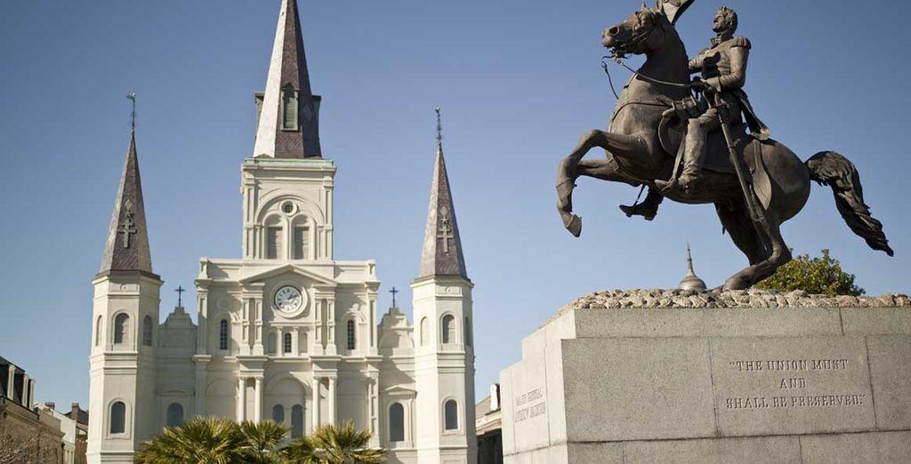 Avant de rejoindre la Nouvelle Orléans