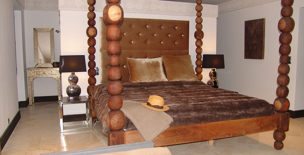 Confortablement installé dans votre Master Suite