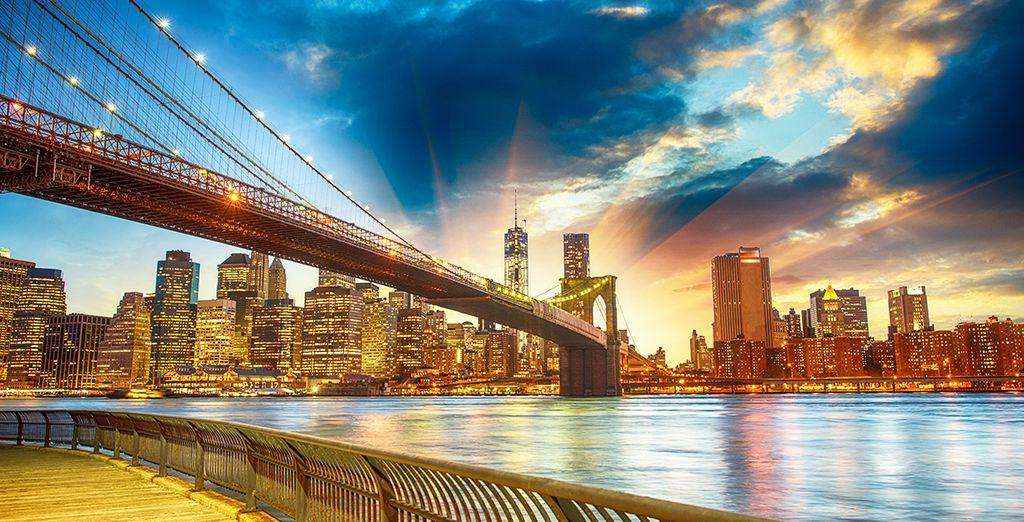 Rendez-vous au cœur d'une ville époustouflante...