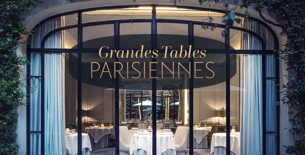 Réservez vite votre Grande Table !