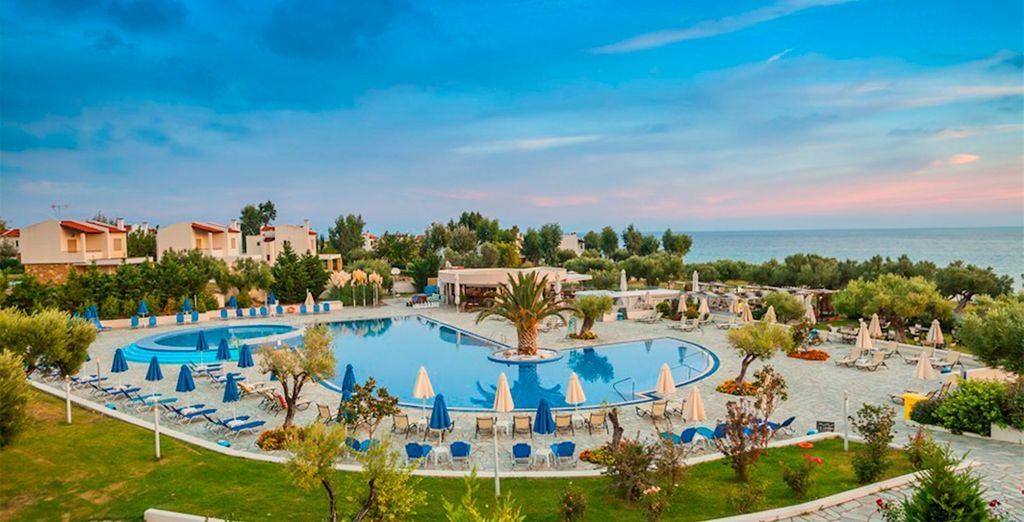 Bienvenue en Grèce - Anastasia Resort & Spa 5* Thessalonique