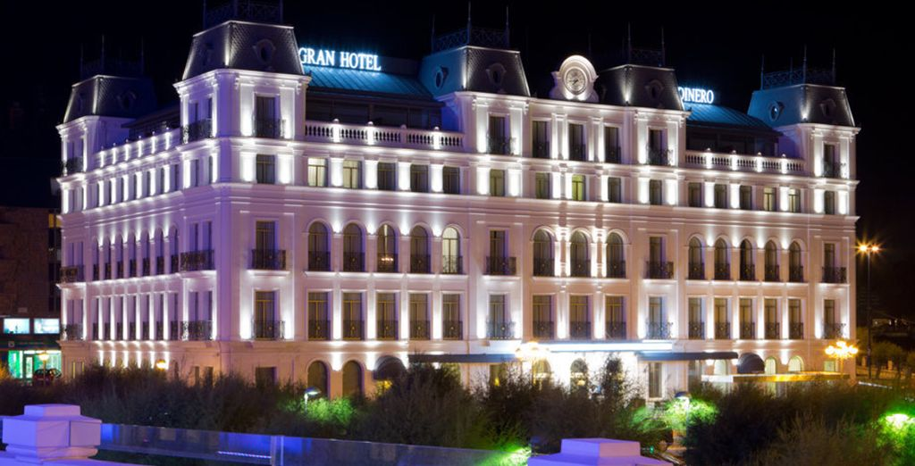 Installez-vous au Gran hôtel Sardinero !