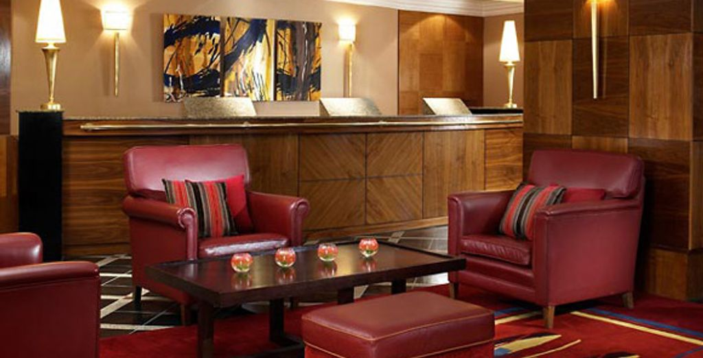L'accueil - The Marriott Marble Arch **** Londres