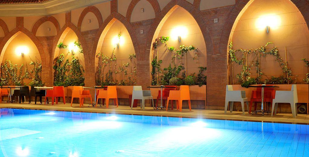 Vous serez accueilli à l'hôtel Blue Sea Le Printemps Guéliz 4*, à Marrakech - Combiné Marrakech Atlantique Marrakech