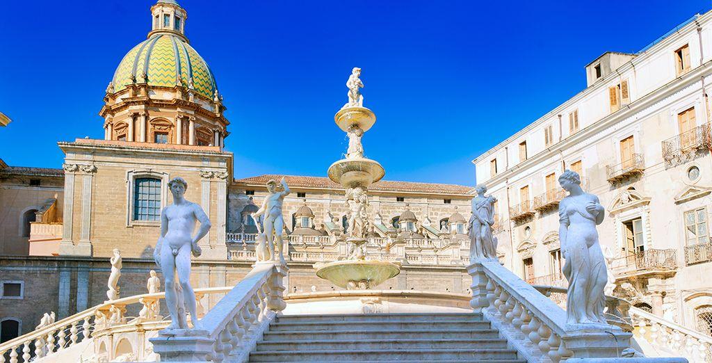 Profitez de votre séjour pour visiter les alentours, sans omettre la belle ville de Palerme