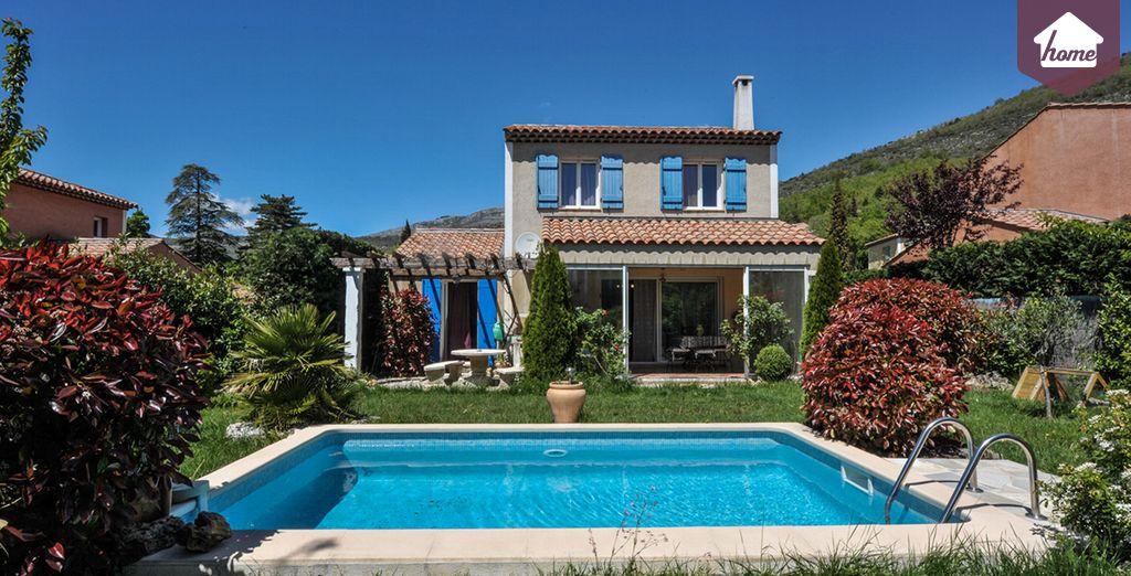 Bienvenue dans votre villa provençale !