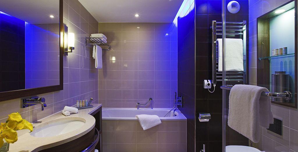 Sa somptueuse salle de bains