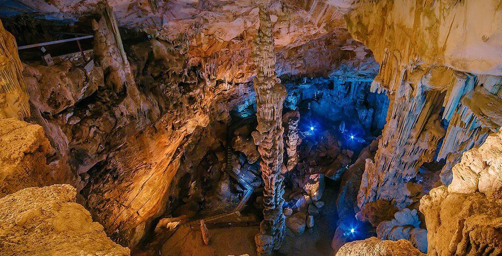 Les somptueuses grottes d'Ispinigoli