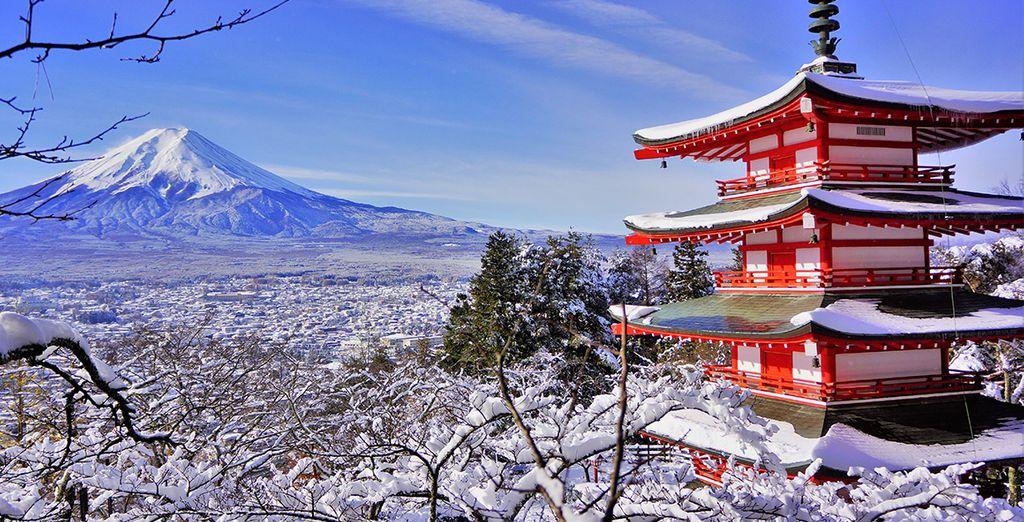 Un séjour au ski incroyable au Japon
