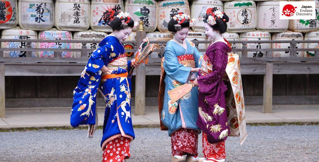 Entendez-vous les murmures des geishas ?
