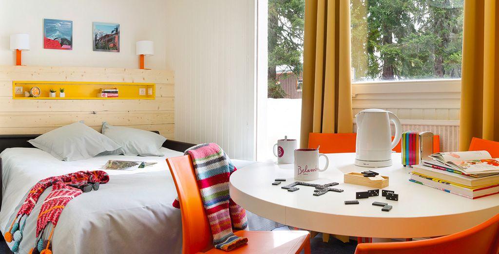 Posez vos valises dans un appartement confortable - Club Belambra Les Embrunes Les Saisies