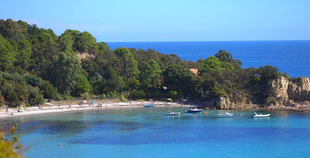 La mer n'est jamais très loin en Corse...