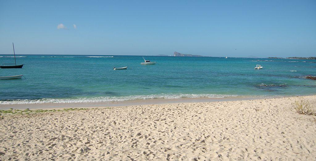 Une plage de sable fin au quotidien