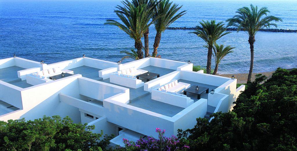 A proximité de Paphos, sur l'île de Chypre