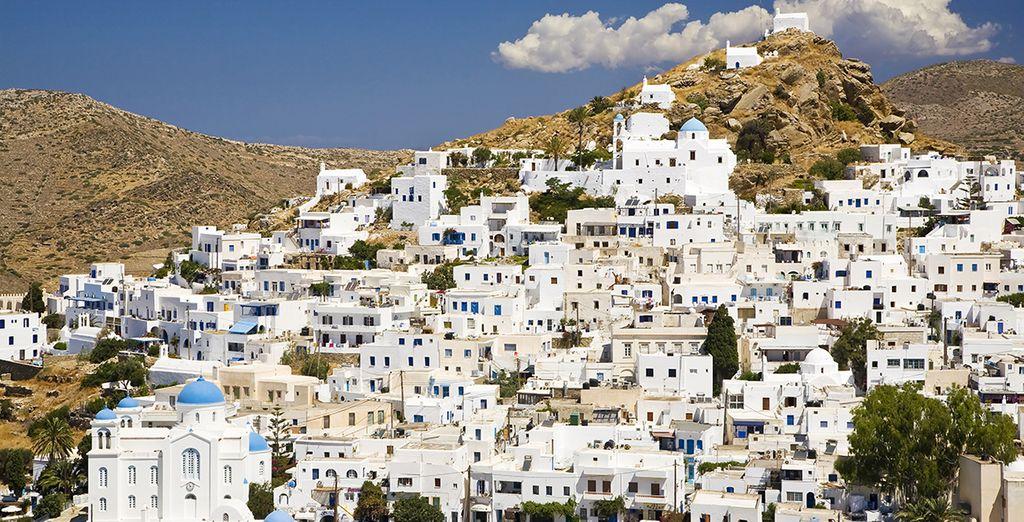 Puis partez pour l'île d'Ios dans les Cyclades